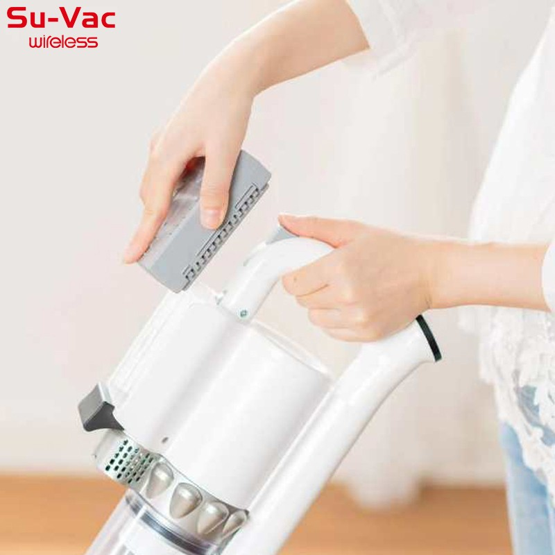 SUVAC DV-8858DCW CORDLESS CYCLONE VACUUM CLEANER